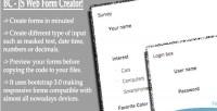 Js bc creator form web