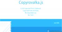 Js copyrovalka web clipboard