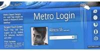 Login metro form