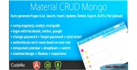Material crud angularjs materialized mongodb with crud material