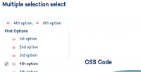 Multiple single custom plugin element select