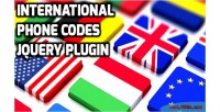Phone international plugin jquery codes