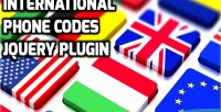 Phone international plugin jquery codes