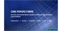 Popupo core forms
