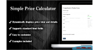 Price simple calculator