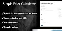 Price simple calculator