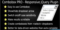 Pro combobox plugin jquery responsive