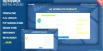 Reviewer rating & review template html wizard