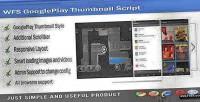 Googleplay wfs thumbnail script