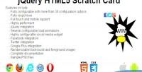 Html5 jquery scratch card