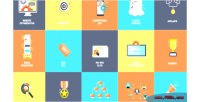 Animated 16 seo icons
