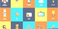Animated 16 seo icons