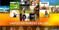 Bootstrap responsive unified pro gallery photo