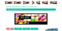 Business 3d card flipper