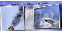 Cloud dynamic effect