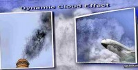 Cloud dynamic effect