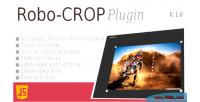Crop image javascript plugin