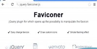 Dynamic faviconer favicon