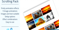 Effects scrolling pack