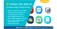 Em premium add on icons promotional web em