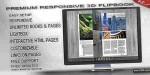 Flipbook 3d plugin jquery responsive