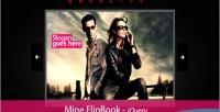 Flipbook mine jquery