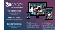 Fully gridzy responsive gallery customizable and