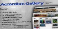Gallery accordion