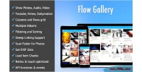 Gallery flow gallery multimedia html5