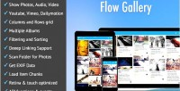 Gallery flow gallery multimedia html5