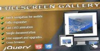 Gallery fullscreen jquery plugin