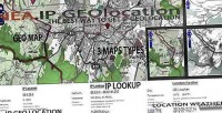 Geolocation with geo map weather & lookup geolocation