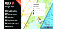 Google uber jquery for maps