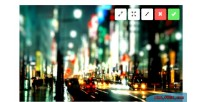 Html 5 upload image ratio with drop & drag