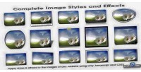 Image complete styles effects