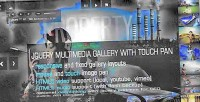 Image jquery gallery mousepan with slideshow
