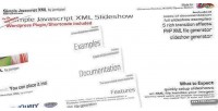 Javascript simple xml slideshow