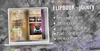Jquery flipbook powered gallery media w