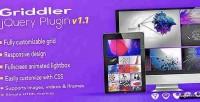 Jquery griddler plugin