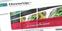 Jquery hoverup plugin