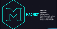 Jquery magnet plugin layouts filterable for