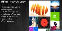 Jquery metro grid portfolio