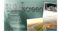 Jquery slidescreen plugin