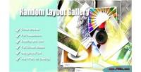Layout random gallery