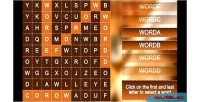 Leads wordsearch games with generation