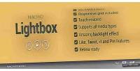 Lightbox nacho lightbox responsive flat