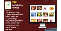 Media cone gallery portfolio