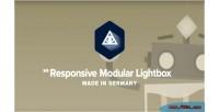 Modular responsive lightbox