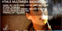 Multimedia html5 background
