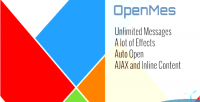 Open openmes messages effects animation with